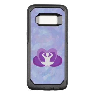 Caso de Smartphone del tema de la yoga Funda Commuter De OtterBox Para Samsung Galaxy S8