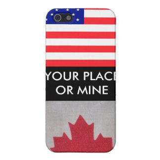 Caso de SU iphone del LUGAR O de la MINA USA/Canad iPhone 5 Cobertura