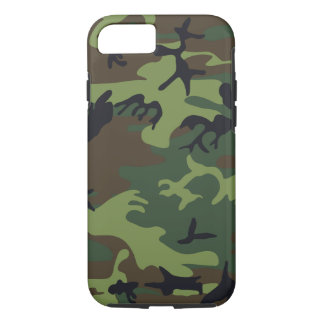 Caso del ambiente del iPhone 7 del camuflaje Funda iPhone 7