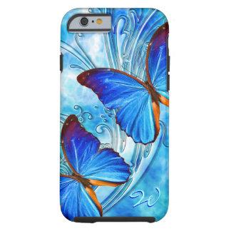 Caso del arte 37 de la mariposa funda de iPhone 6 tough