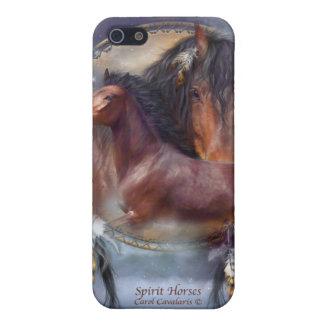 Caso del arte de los caballos del alcohol para el iPhone 5 funda
