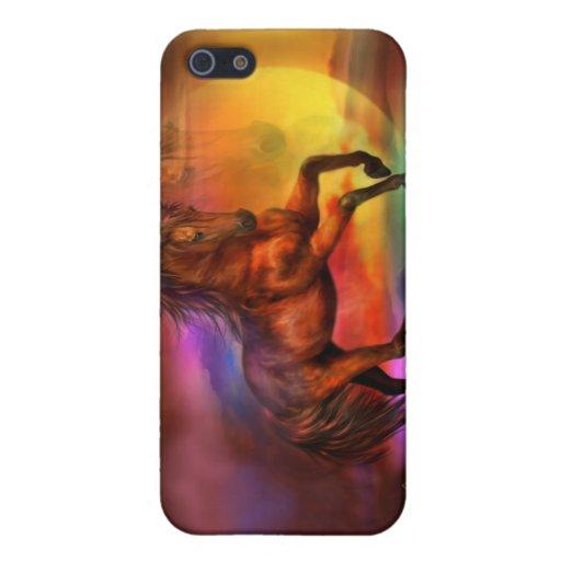 Caso del arte del caballo de la Firelite-Fantasía  iPhone 5 Coberturas