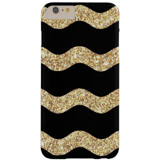 Caso del brillo de Chevron Funda Barely There iPhone 6 Plus