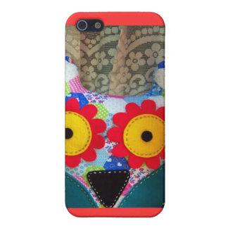 caso del búho iPhone 5 fundas