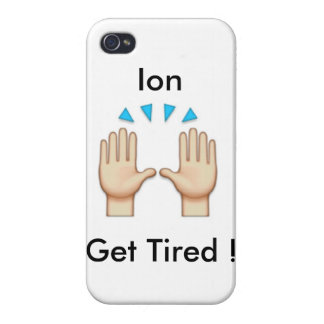 caso del emoji del iphone iPhone 4 carcasas