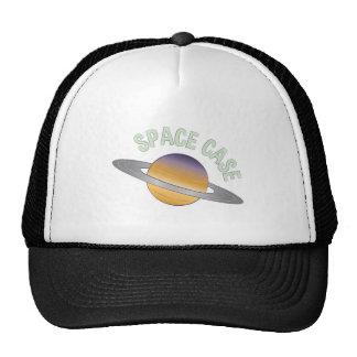 Caso del espacio gorras de camionero