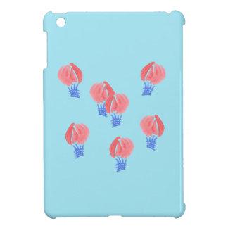 Caso del iPad brillante de los balones de aire