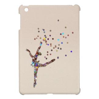 Caso del iPad del bailarín del brillo mini