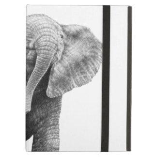 Caso del iPad del elefante africano del bebé Funda Para iPad Air