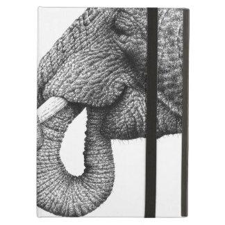 Caso del iPad del elefante africano Funda Para iPad Air