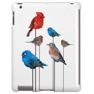 Caso del iPad del fiesta del pájaro Funda Para iPad