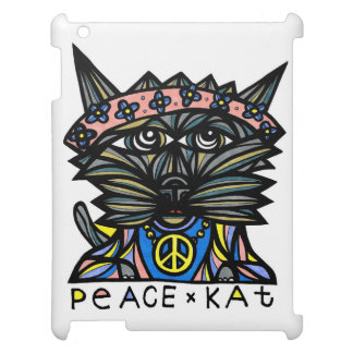 Caso del iPad del Kat BuddaKats de la paz