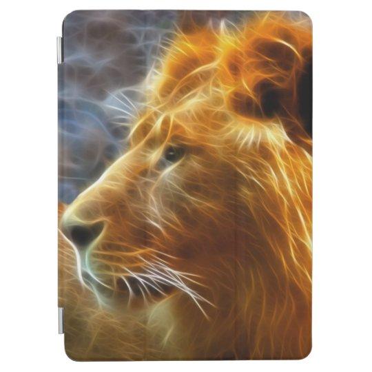 Caso del iPad del león del fractal Cubierta Para iPad Pro