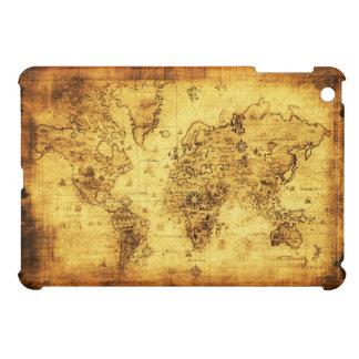 Caso del iPad del mapa de Viejo Mundo del vintage  iPad Mini Carcasas