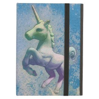 Caso del iPad del unicornio (ártico azul)