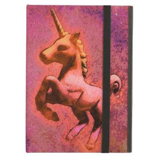 Caso del iPad del unicornio (intensidad roja)