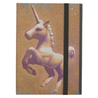 Caso del iPad del unicornio (lavanda del metal)
