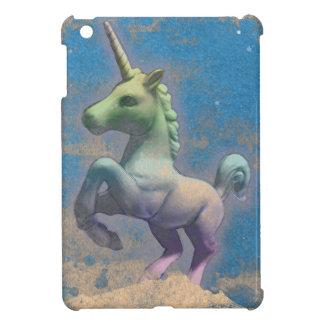 Caso del iPad del unicornio mini (azul de Sandy)