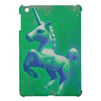 Caso del iPad del unicornio mini (que brilla