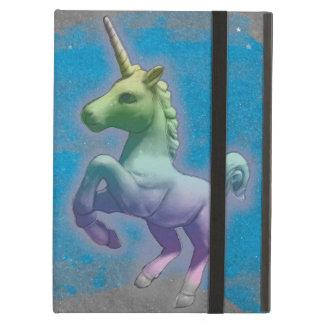 Caso del iPad del unicornio (nebulosa azul)