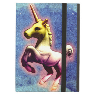 Caso del iPad del unicornio (reflejo de la