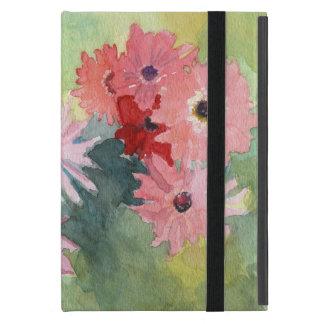 Caso del iPad del verano en rosa y verde Funda Para iPad Mini