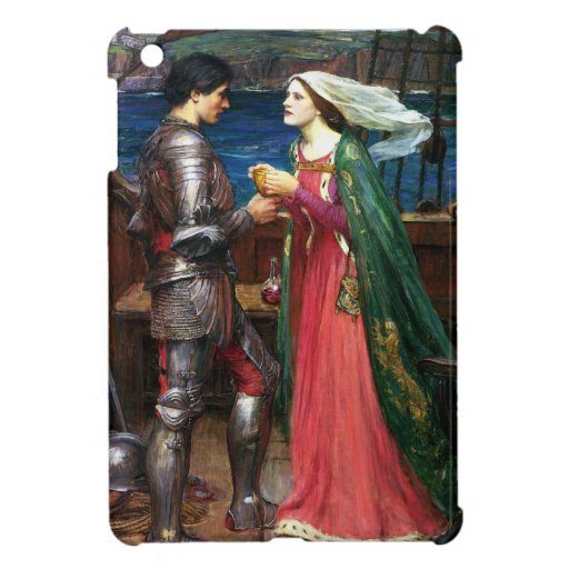 Caso del iPad del Waterhouse Tristan y de Isolda m iPad Mini Protector