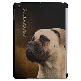 Caso del iPad duro de la cáscara de Bullmastiff
