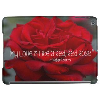 caso del iPad mi rosa rojo del amor