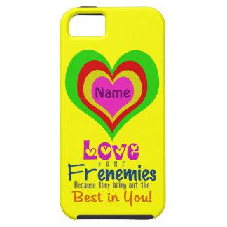 Caso del ~ iPhone5 de Frenemies del corazón iPhone 5 Case-Mate Cobertura
