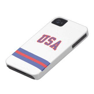 caso del iPhone 1980-USA Funda Para iPhone 4 De Case-Mate