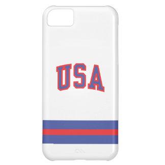 caso del iPhone 1980-USA Funda Para iPhone 5C