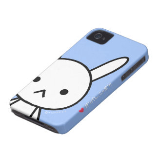 caso del iPhone 4/4S - conejo iPhone 4 Protectores