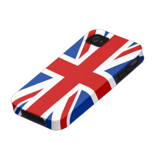 Caso del iPhone 4/4S de la bandera de Union Jack Case-Mate iPhone 4 Carcasa