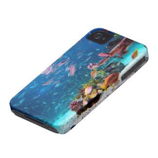Caso del iPhone 4/4s del océano iPhone 4 Fundas
