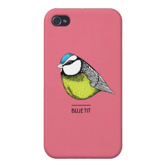 Caso del iPhone 4 de Bluetit iPhone 4 Protector