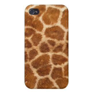 Caso del iPhone 4 de la piel de la jirafa iPhone 4/4S Carcasa