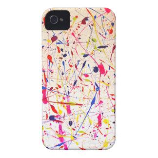 Caso del iPhone 4 del diseño de la salpicadura del iPhone 4 Cárcasas