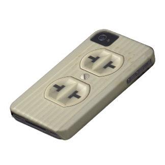 Caso del iPhone 4G del enchufe de pared del Carcasa Para iPhone 4