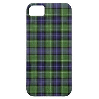 Caso del iPhone 5/5S de la tela escocesa de tartán iPhone 5 Fundas