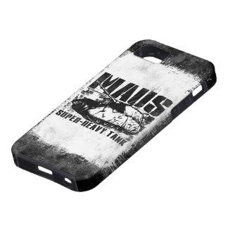 Caso del iPhone 5/5S de Panzer VIII Maus iPhone 5 Case-Mate Cárcasa