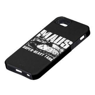 Caso del iPhone 5/5S de Panzer VIII Maus iPhone 5 Case-Mate Cárcasas