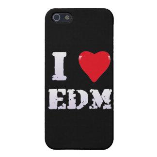Caso del iPhone 5/5S del AMOR EDM iPhone 5 Carcasa