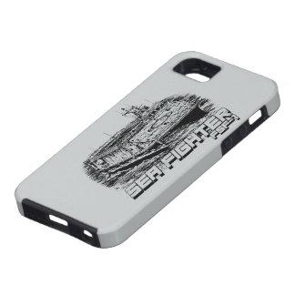 Caso del iPhone 5/5S del combatiente del mar iPhone 5 Case-Mate Cobertura