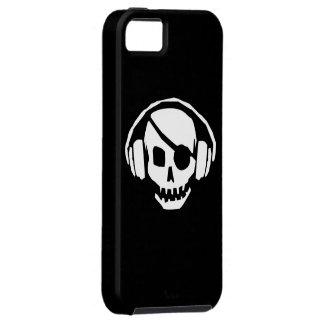 Caso del iPhone 5 de DJ del pirata iPhone 5 Carcasa