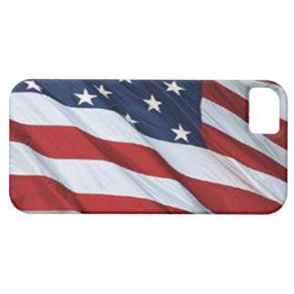 Caso del iPhone 5 de la bandera americana iPhone 5 Case-Mate Protector