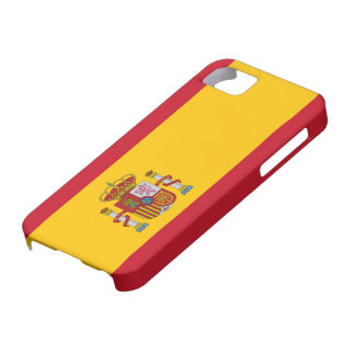 Caso del iphone 5 de la bandera de España iPhone 5 Funda