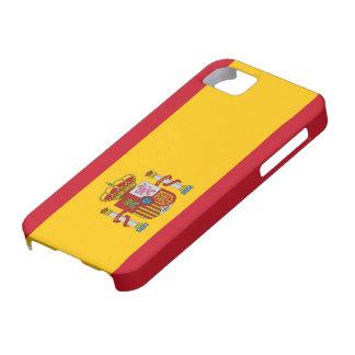 Caso del iphone 5 de la bandera de España iPhone 5 Case-Mate Protector