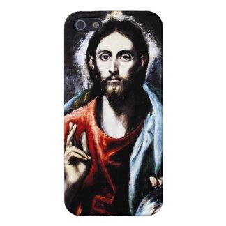 Caso del iPhone 5 de la bendición de El Greco Cris iPhone 5 Cárcasa