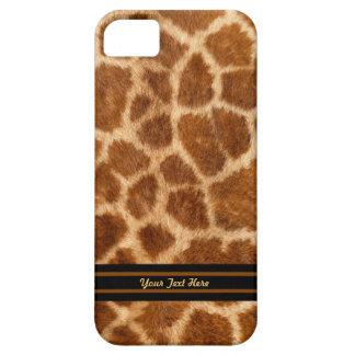 Caso del iPhone 5 de la piel de la jirafa - Funda Para iPhone SE/5/5s